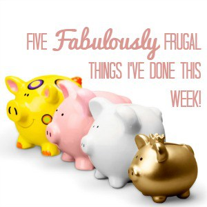 Logo for 5 fabulously frugal things