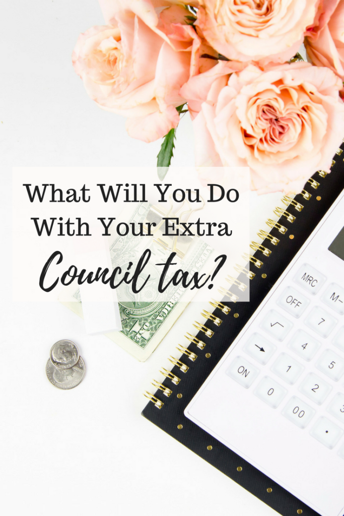 Pinterest What Will You Do With Your Extra Council Tax February and March